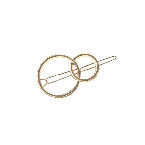 Fok Silver And Golden Hairclip Pin