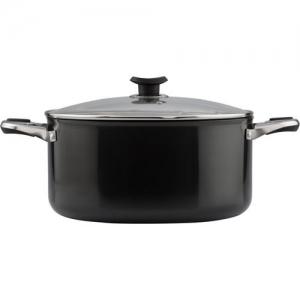 Vinod Cookware Sauce Pot With Lid, 24 cm, 5 Ltr, Aluminium Pot 7 Ltr with Lid(Aluminium)