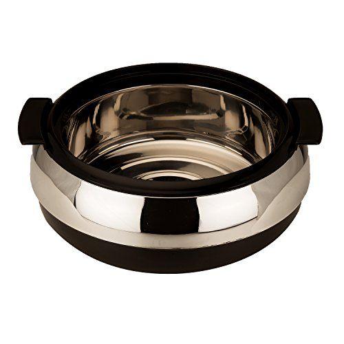 Jaypee Glasserol Set Black, Set of 3 Casserole (800+1200+1700 ml)
