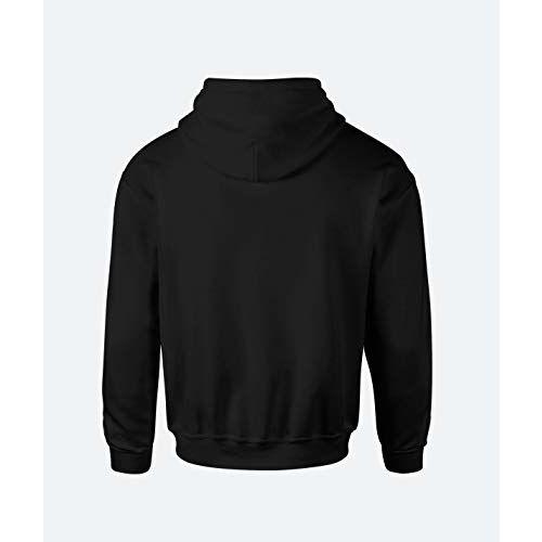 More & More Unisex Regular Fit Money Heist Printed Cotton Hoodie (Bellaciao;Black;XS)