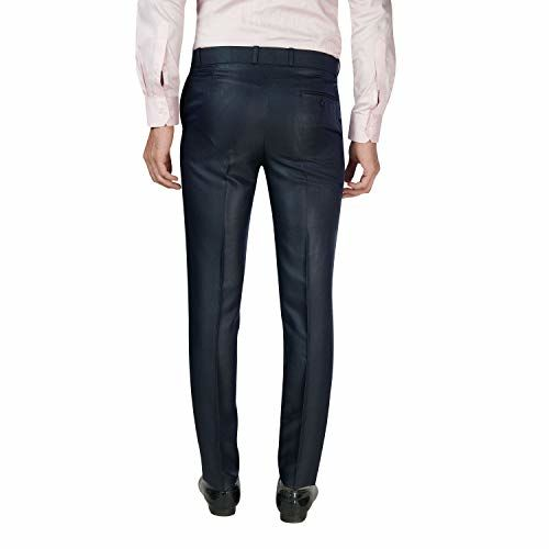 C3 Blue clolured Formal Trousers for Men.