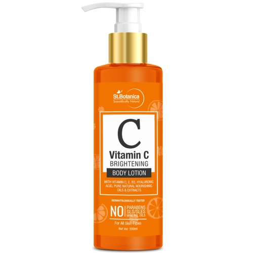 StBotanica Vitamin C Skin Brightening Body Lotion