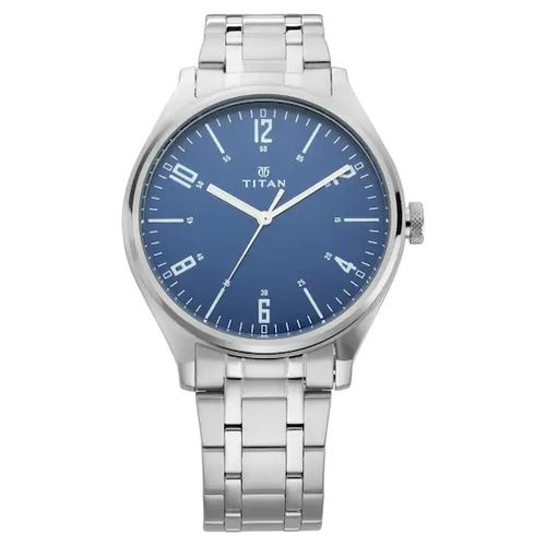 Rolly Tit,an Neo Iv Analog Blue Dial Mens Watch NM1802SM02