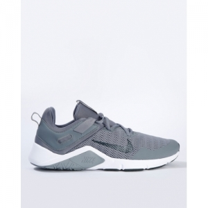 NIKE Grey Mesh Lace-Up Sports Shoes