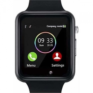 Lastpoint Android calling smart 4G bluetooth Smartwatch(Black Strap, free)