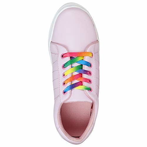 SneakersVilla Synthetic Leather Casual Stylish Sneakers Casual Shoes for Womens and Girls