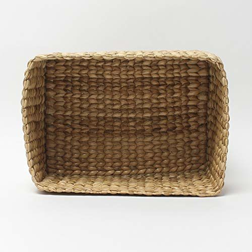 Habere India-All the Cultures Fabricating India Decorative Tray/Storage Baskets Trays, Also Used as a Vegetables Tray. Use This Natural Straw/Dry Grass/Small