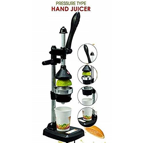 BTC INDIA Hand Press Juicer (Black)
