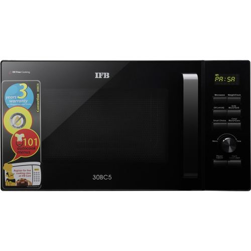 IFB 30 L Convection Microwave Oven(30BC5, Black)