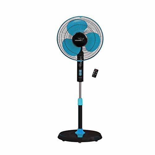V-Guard Esfera Pedestal Fan with Remote (Blue Black)