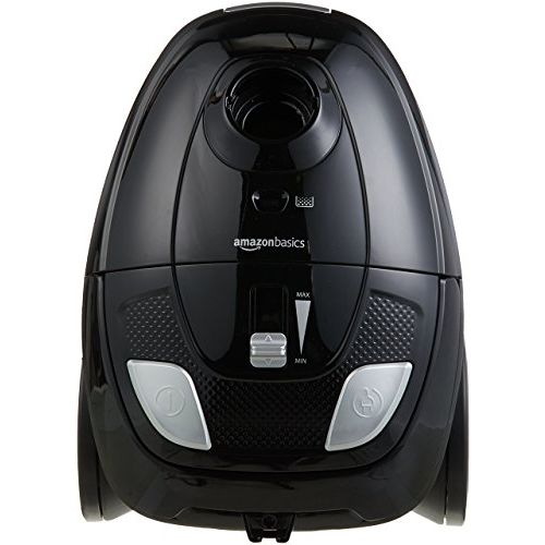 AmazonBasics Vacuum Cleaner with Power Suction, Low Sound, High Energy Efficiency and 2 Years Warranty (1.5L Reusable Dust Bag, Black)