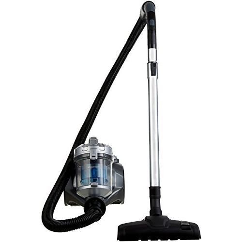 AmazonBasics Cylinder Bagless Vacuum Cleaner with Power Suction, Low Sound, High Energy Efficiency and 2 Years Warranty (1.5L, Black)