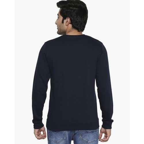 Urban Hug Cotton Crew-Neck Sweatshirt