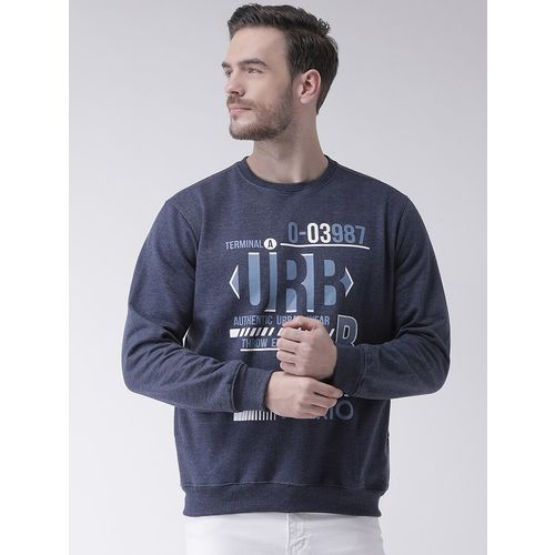 COBB blue chest printed sweatshirt