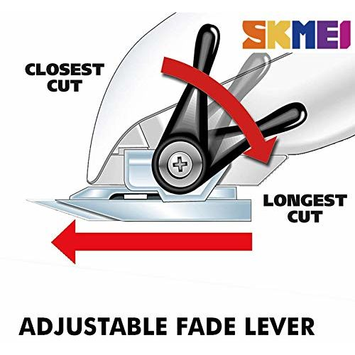 SKMEI Professional 5-Star Rechargeable Hair Cipper Electric Shaving Machine Razor Barber Cutting Beard Trimmer Haircut Set Cordless Low Voice LED Display For