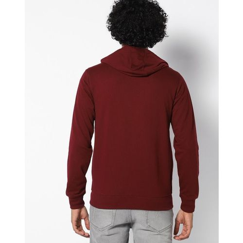 DNMX Zip-Front Hoodie with Insert Pockets