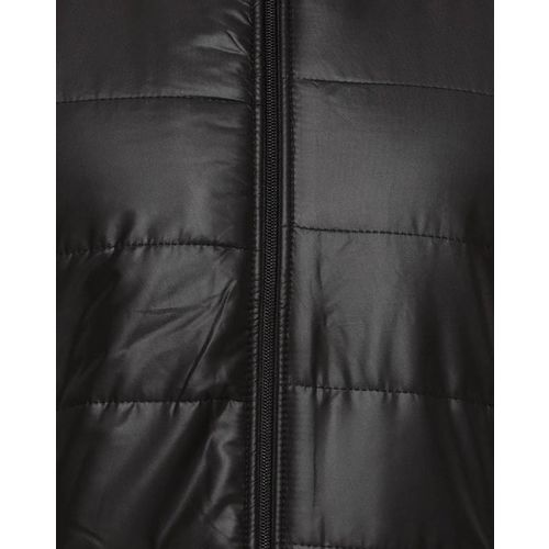 Campus Sutra Panelled Zipper-Front Jacket