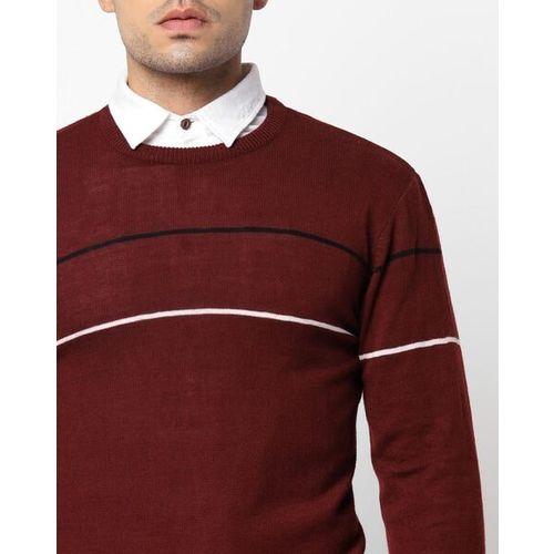 NETPLAY Striped Crew-Neck Sweatshirt