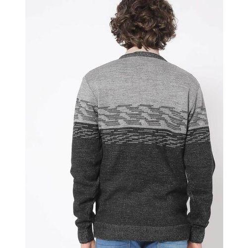 PROLINE Knitted-Design V-neck Pullover