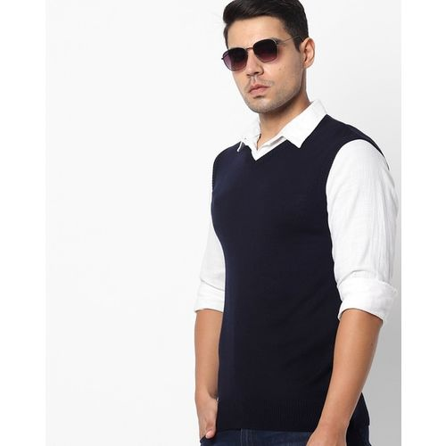 NETPLAY V-neck Sleeveless Pullover
