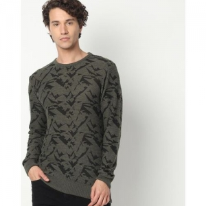 Teamspirit Camouflage Print Pullover with Ribbed Hems