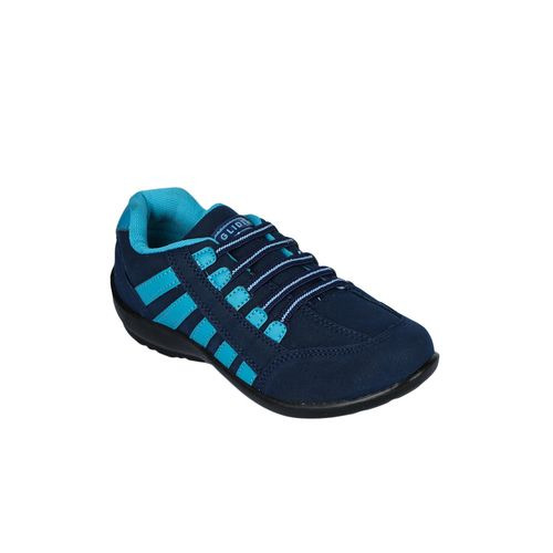 Gliders By Liberty blue slip on sports shoes
