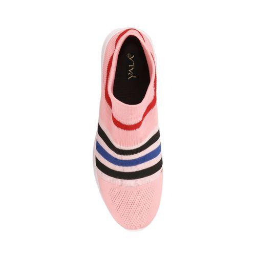YALA pink slip on sports shoes