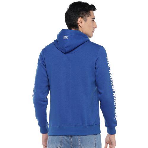 Globus blue printed sweatshirt