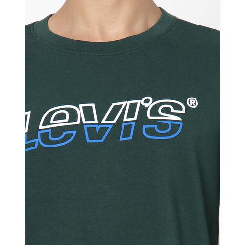 LEVIS Crew-Neck Sweatshirt with Signature Branding