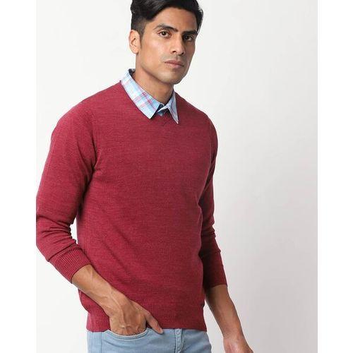 MONTE CARLO Hethered V-neck Pullover