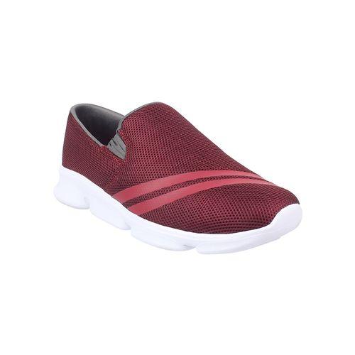 Yuuki red slip on sneakers