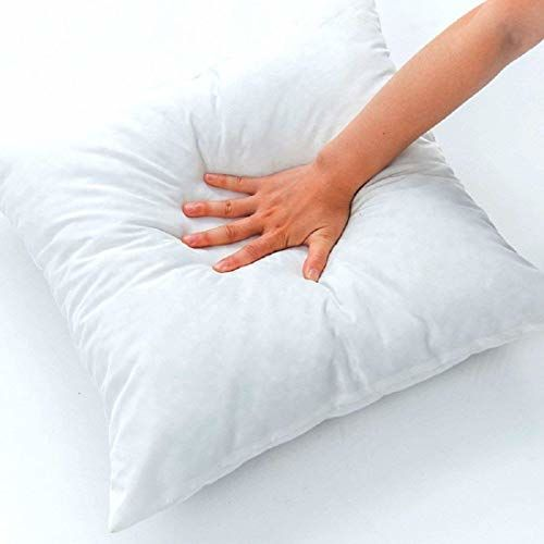 Safunooza Hotel Quality Hollow Fiber Filler Cushion (White) -Set of 5 (16x16)