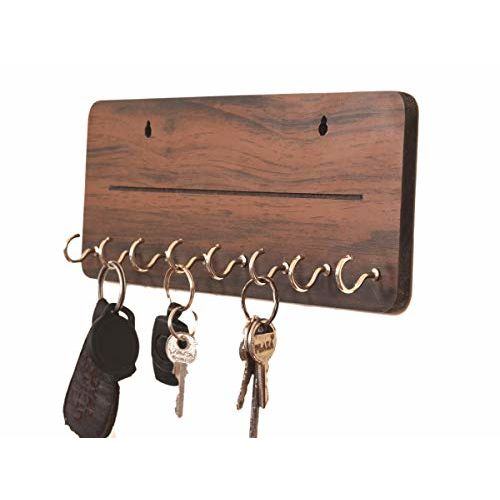 Metvan Wall Mounted one line Key Holder(8 Hook)
