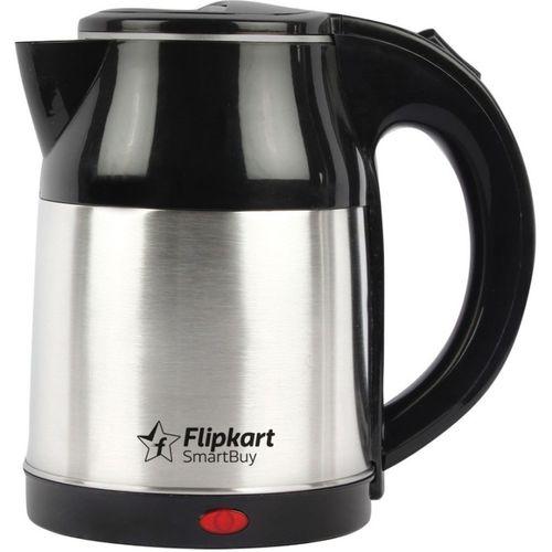 Flipkart SmartBuy Pronto Electric Kettle(1.8 L, Silver, Black)