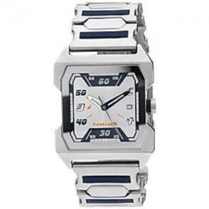 Fastrack White Dial Analog Watch - NE1474SM01
