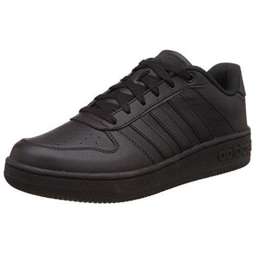 Buy Adidas Black Leather Solid Running