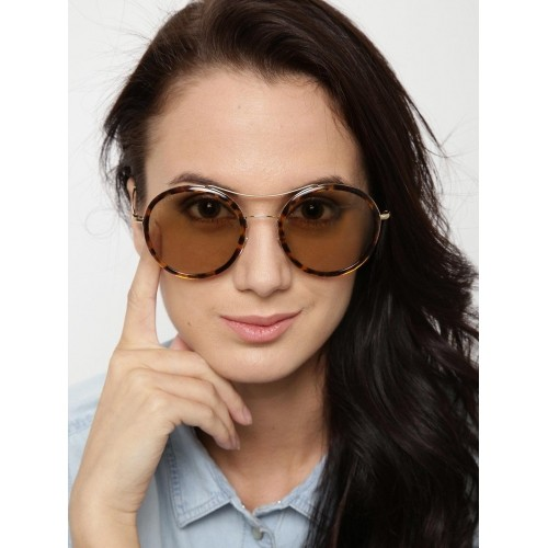 3da97df6dc Buy Gucci Women Printed Round Sunglasses GG 4252 N S I93VG online ...