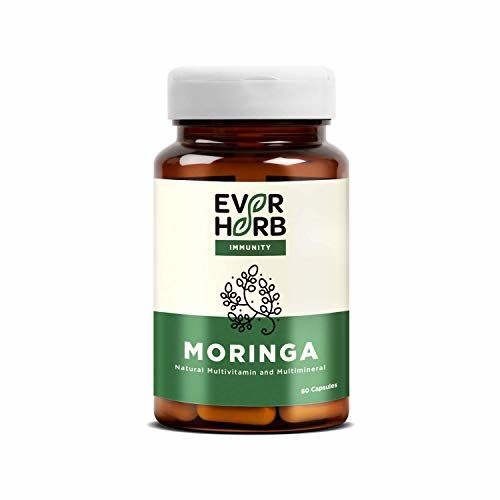 EVER HERB Everherb Moringa (drum Stick) - Natural Immunity Booster - Natural Multivitamin - 60 Capsules
