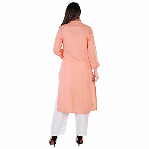 Generic Yashwani Fashion Women's Solid Kurta with Palazzo