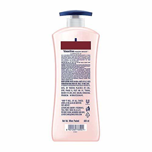 Vaseline Healthy Bright Daily Brightening Body Lotion, 400 ml And Vaseline Healthy Bright Complete 10 Body Lotion, 400 ml