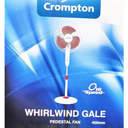 Crompton Pedestal Fan High Speed Whirlwind Gale 16