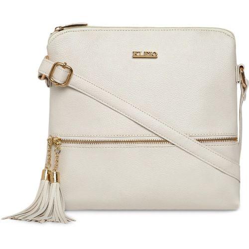 Kleio White Sling Bag