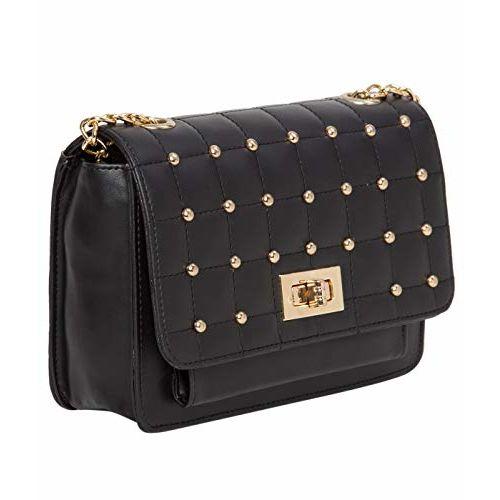 ADISA Women's & Girls' Sling Bag (SL5030-BLK_Blackk)
