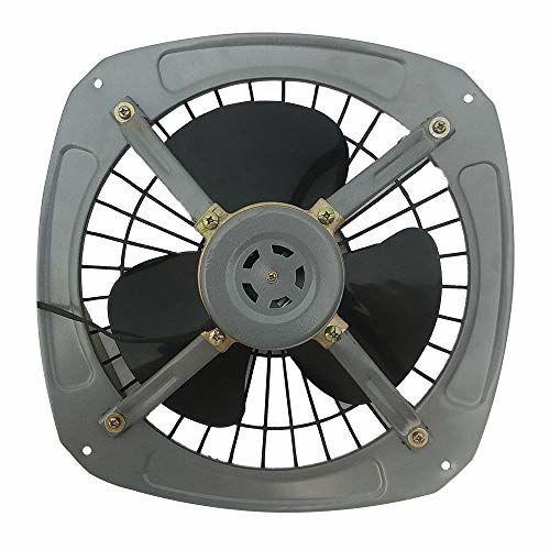 DIGISMART 300mm High Speed 12 Inches 100% Copper Fresh Air Exhaust Fan Silver
