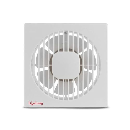 Lifelong 150 mm 7 Blades Exhaust Fan - Pack of 1 (White)