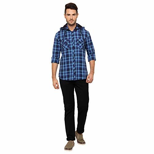 Globus Blue Checked Shirt