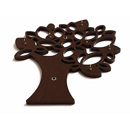 Olympic Arts Tree Key Wall Holder    Wooden Key Holder    Decorative Key Hanger