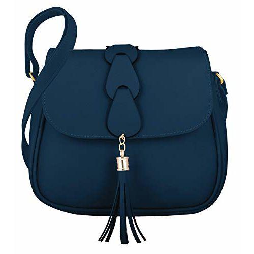 Genericc Classy Fashion Women's Tassel Sling Bag With Adjustable Strap