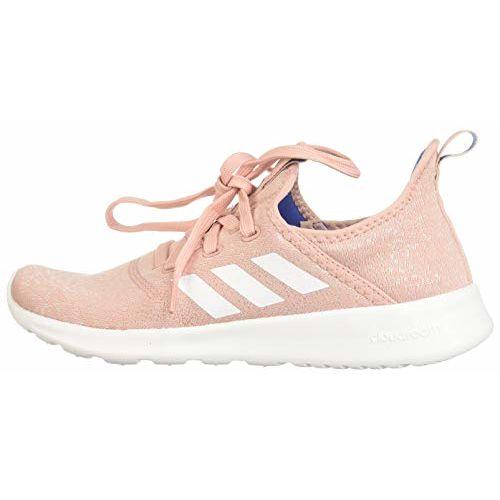 Adidas Women's Cloudfoam Pure PNKSPI/CWHITE/ROYBLU Running Shoe-6 UK (EG3844)