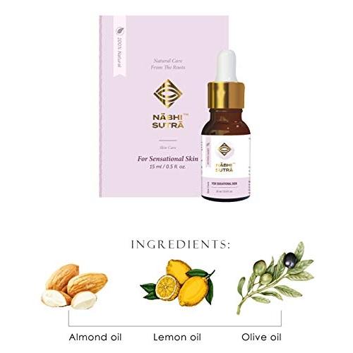 Nabhi Sutra Premium & Pure Whiteglow Skin And Perfect Radiance Skin Lightening/Brightening Oil Anti Ageing Sensational Skin